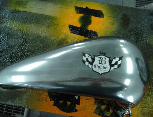 Harley – Teile in Chromlack
